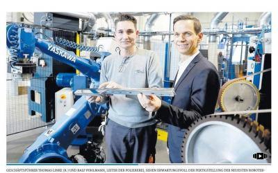 Galvanikbetrieb verchromt Mercedes-Stern